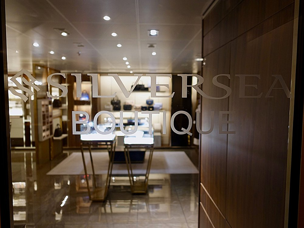 The Silversea Boutique.