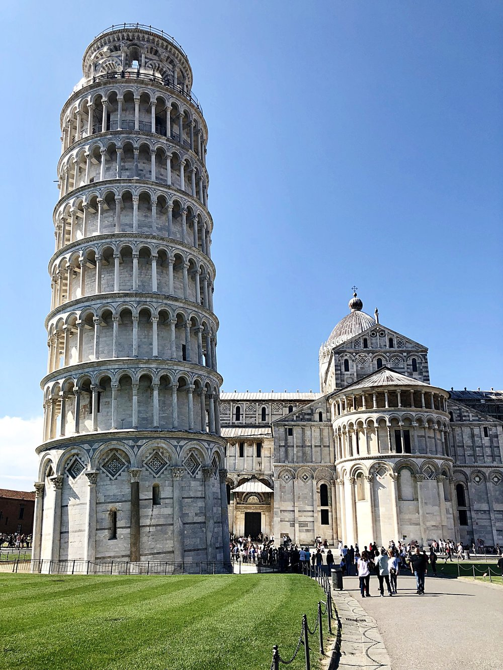 Who said the Tower at Pisa was leaning?