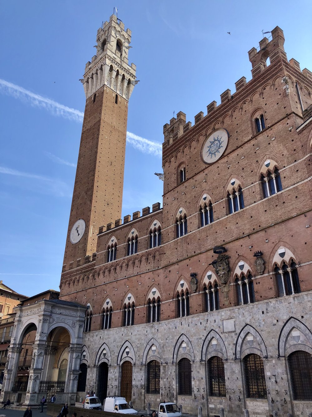 The Piazza del Campo.