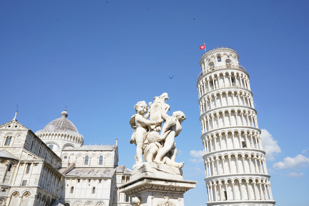 The Tower and The Duomo.