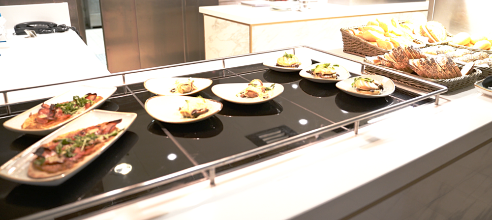 We loved these delicious small plates on offer throughout the day in Carinthia Lounge.