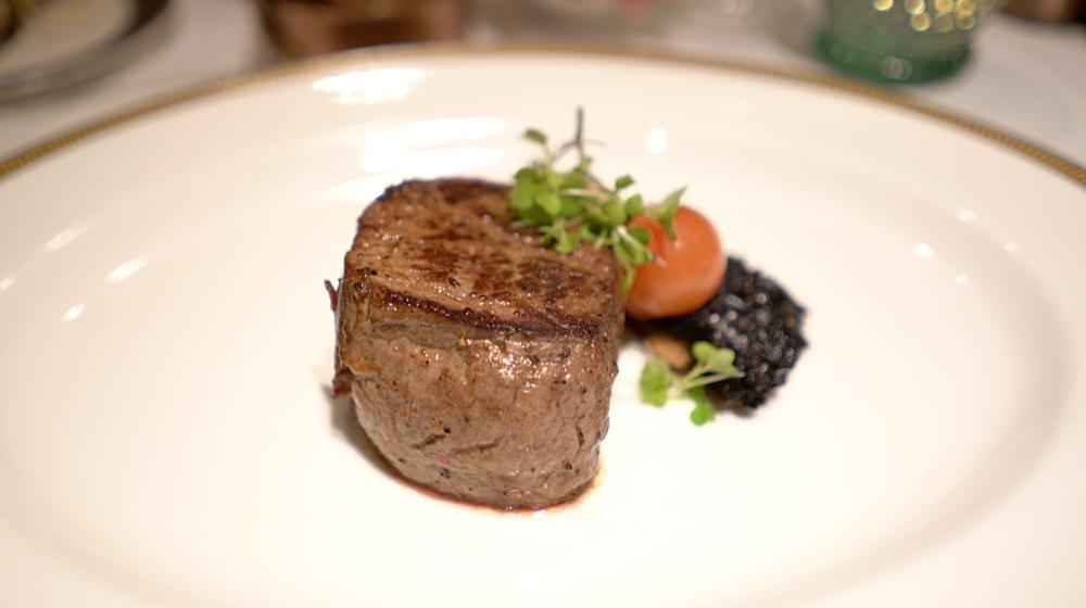 Simple and succulent, fillet steak.