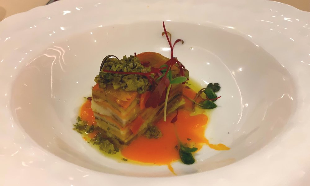Vegetable layers.