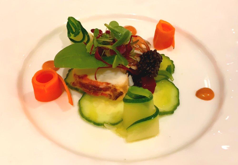 Signature lobster salad