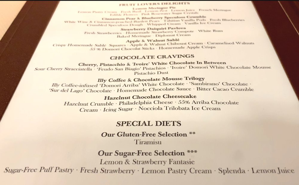 Desserts - nothing more to say!