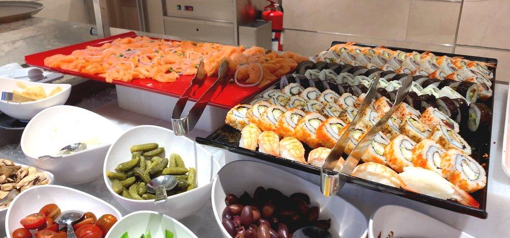 Lunchtime at La Terrazza.