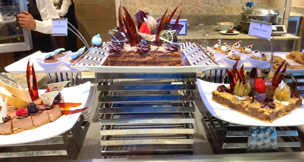 La Terrazza dessert selection.