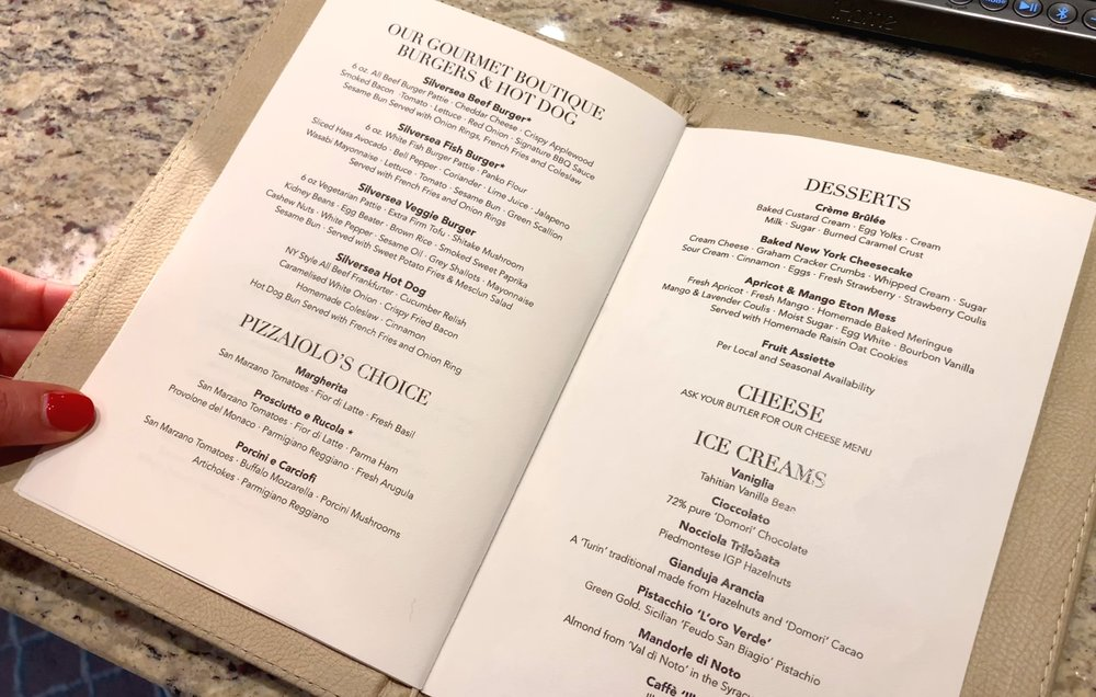More room service offerings