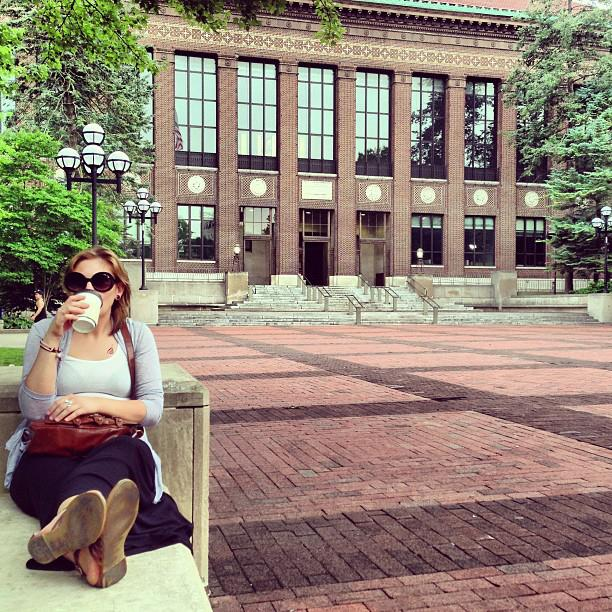 Last year's summer, when I spent the entire month of July at home, in Ann Arbor, with Sara.