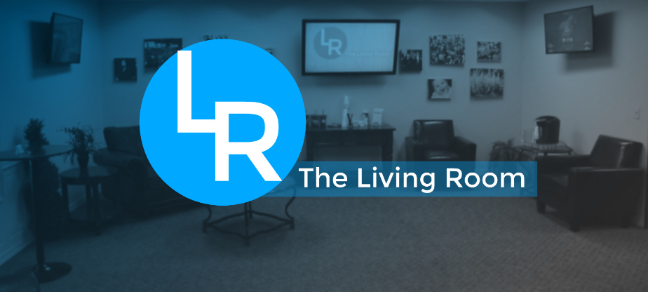 "The Living Room:   If it's your first Sunday visiting us, in service we encourage you to fill out the ""I'm New Here"" card that will be located in the back of the seat in front of you. We'd love for you to bring it to The Living Room located next to the main entrance where we will have coffee and will give you a gift!"