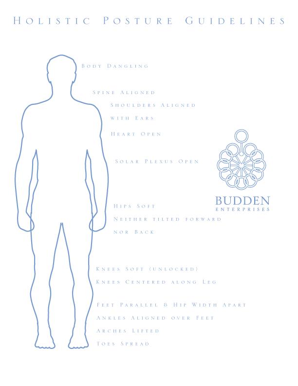 Budden Holistic Posture Guidelines