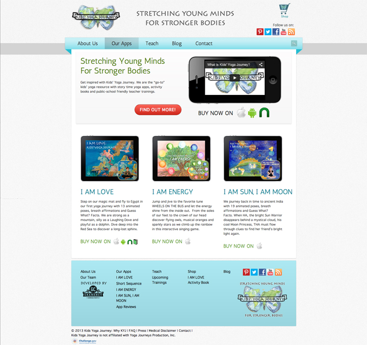 Website Homepage Mockup