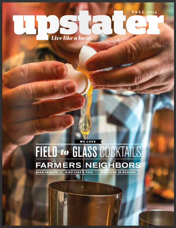 Upstater Magazine, cover shot