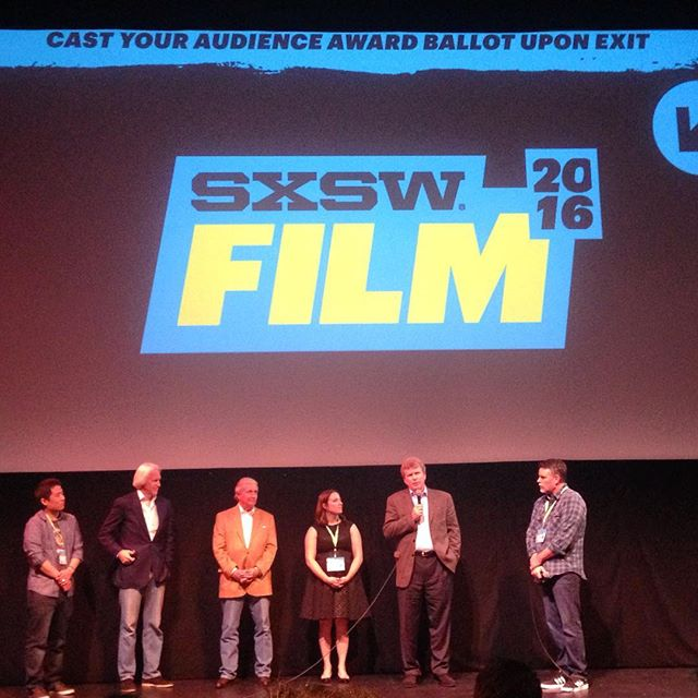 Opening night. ✔️ World premiere. ✔️ #full house. ✔️ @sxsw #premiere #sxsw #austin #doc #documentary #Texas