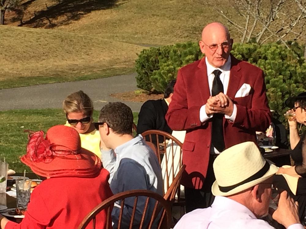 George Thompson, CTES Principal and LPC-TV Board Member-enjoying 2015's Kentucky Derby Gala.