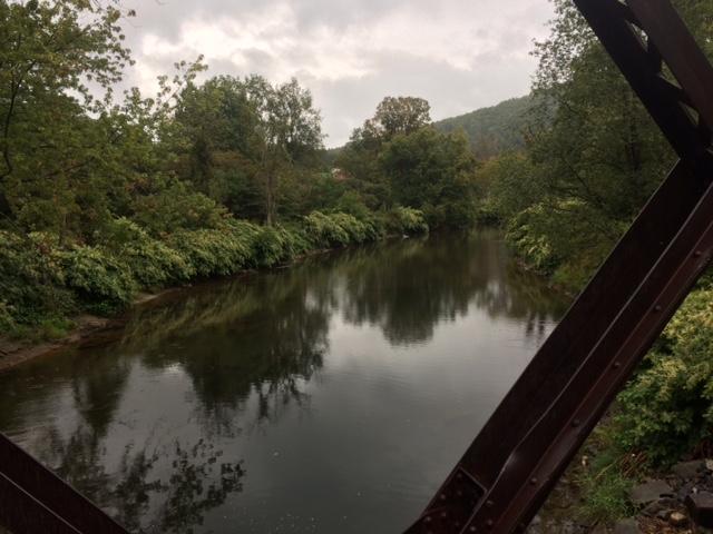 River from trestle .JPG