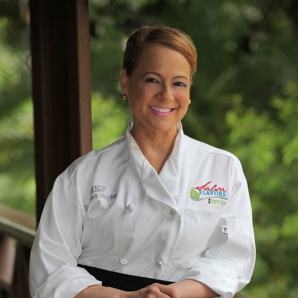 Chef Giovanna Huyke