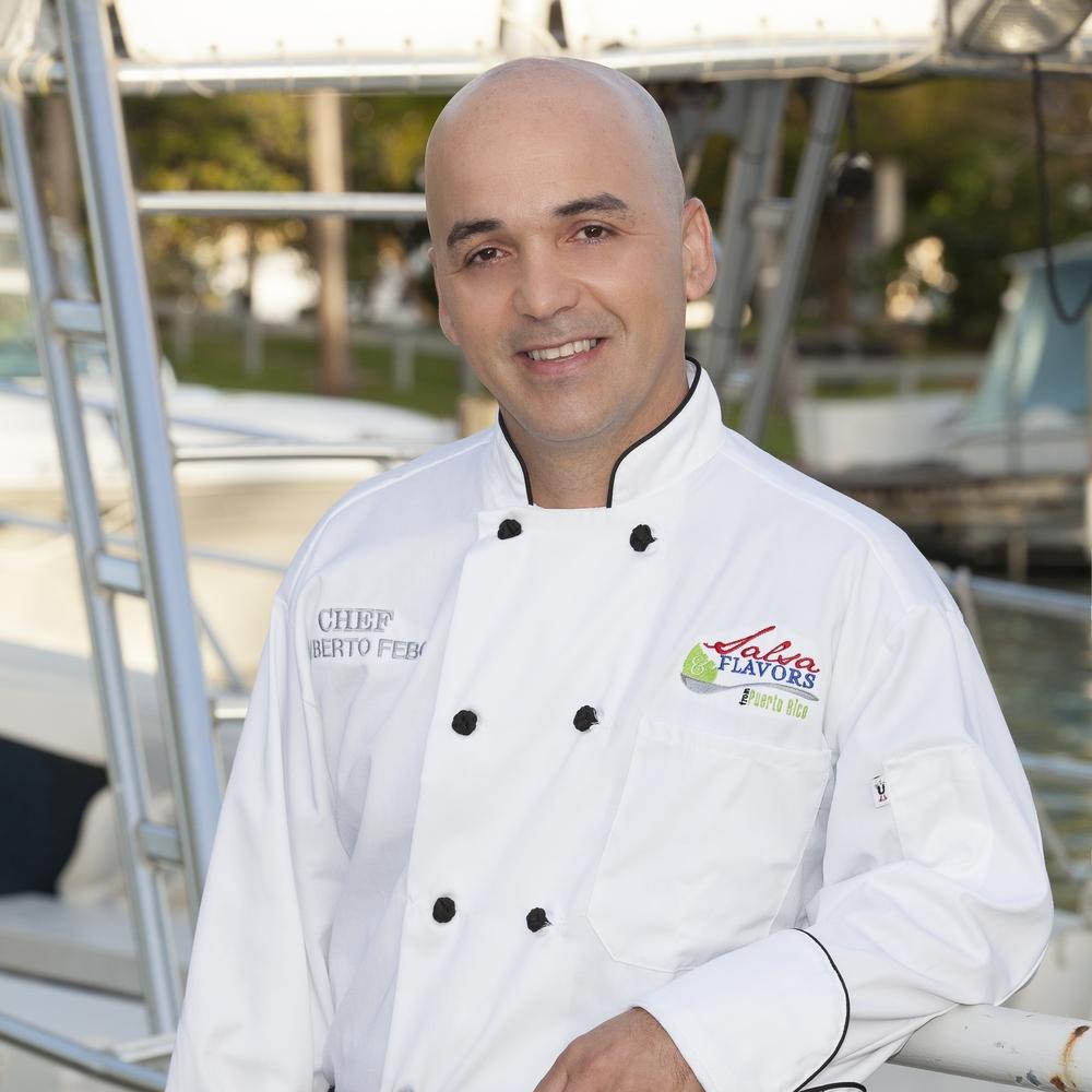 Chef Alberto Febo