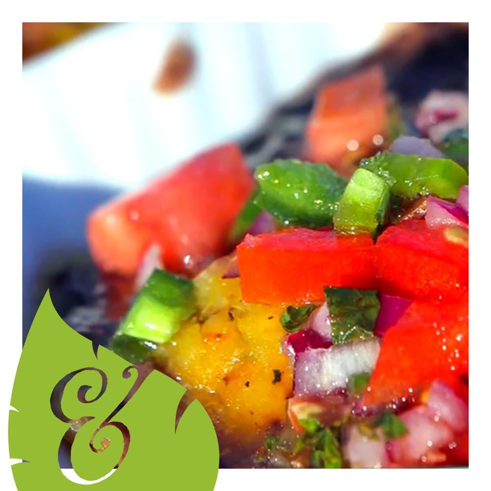 sweet plantain ravioli