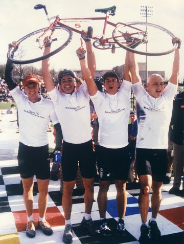 1994 Champs: Shawn Humpfries, Randy Spruill, Dave Perez, Tyler Sparks
