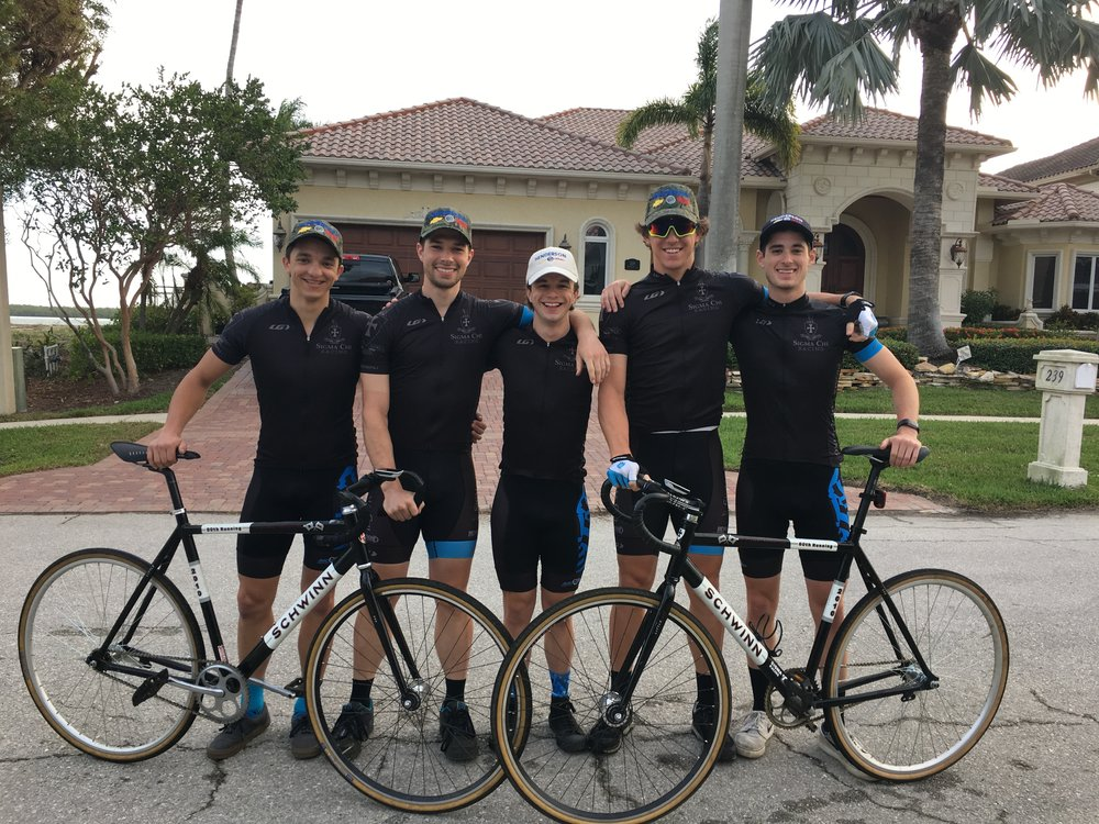 Spring Training Camp in Marco Island: Fiore, Ryan, Cofer, Holtkamp, Faupel
