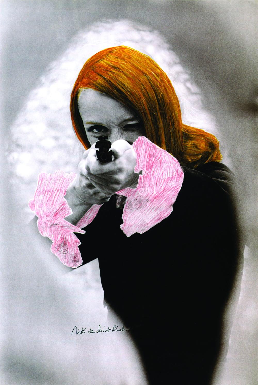"Niki de Saint Phalle. Film-still of ""Daddy"", 1972."