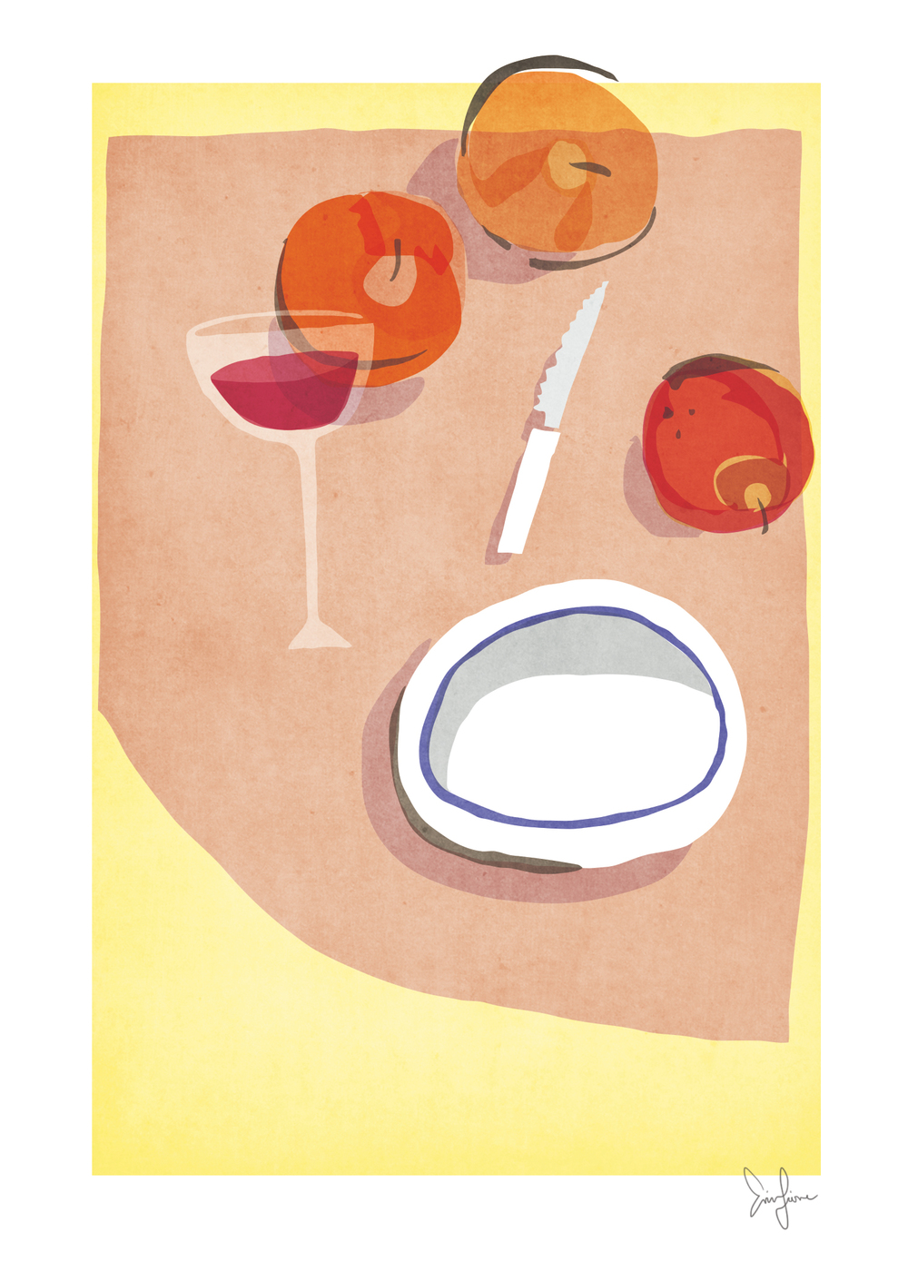 Peaches in my wine: a collection of every day italian experiences, by Erin Fiore | erinfiore.com
