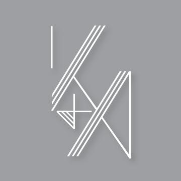 K&A | Monogram design by Erin Fiore | erinfiore.com