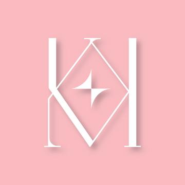 K&K | Monogram design by Erin Fiore | erinfiore.com