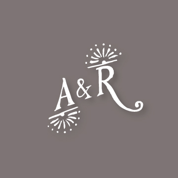 A&R | Monogram design by Erin Fiore | erinfiore.com