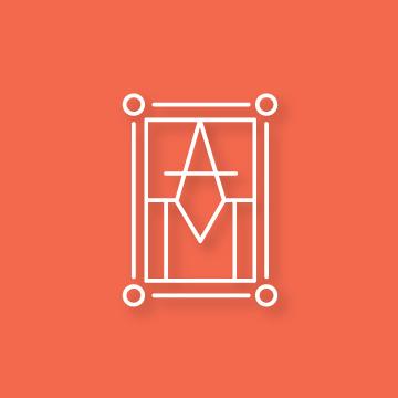 A&M | Monogram design by Erin Fiore | erinfiore.com
