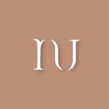 N&U | Monogram design by Erin Fiore | erinfiore.com