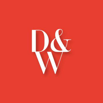 D&W | Monogram design by Erin Fiore | erinfiore.com