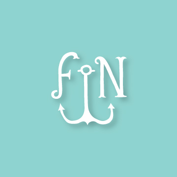 F&N | Monogram design by Erin Fiore | erinfiore.com