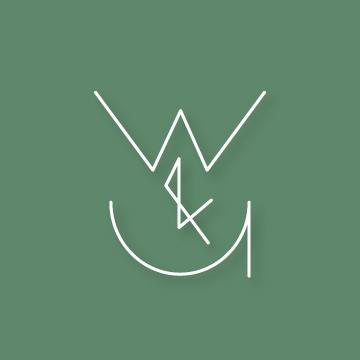 W&U  | Monogram design by Erin Fiore | erinfiore.com