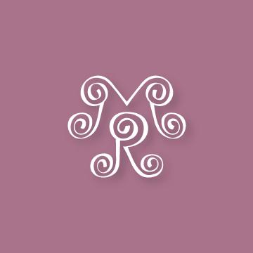M&R | Monogram design by Erin Fiore | erinfiore.com