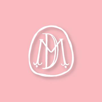 D&M  | Monogram design by Erin Fiore | erinfiore.com