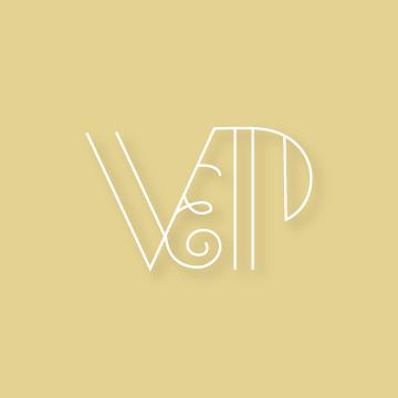 V&P | Monogram design by Erin Fiore | erinfiore.com