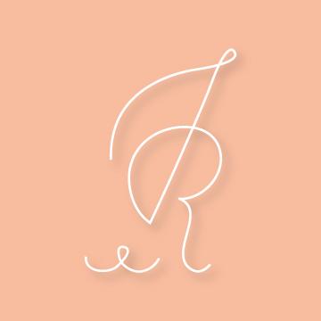 J&R | Monogram design by Erin Fiore | erinfiore.com