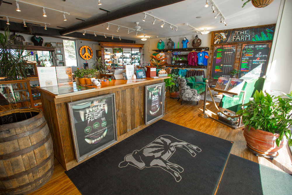 THE FARM DISPENSARY 2801 Iris Ave. Boulder, CO 80301 (303) 440-1323