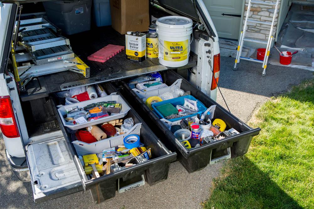 Doubler l'espace de rangement de votre boîte de camion