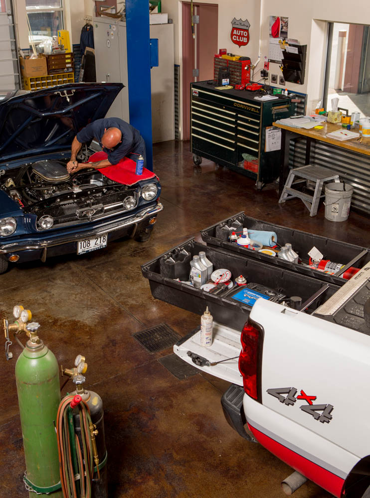 Pour le garagiste qui voyage avec ses outils.
