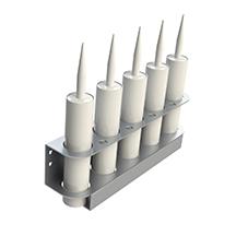 Support pour tubes à calfeutrage