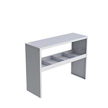 """Atelier avec dessus en aluminium. 36 ou 48"""" de long dans deux hauteurs."""