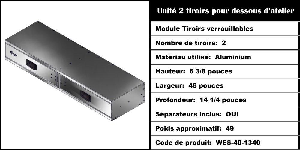 Module Tiroirs WES-40-1340
