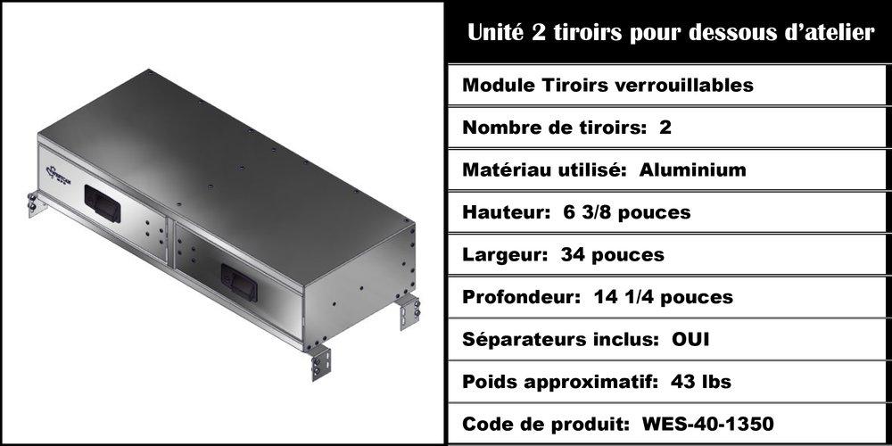 Module Tiroirs WES-40-1350