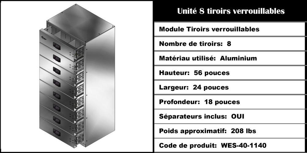 Tiroir WES-40-1140