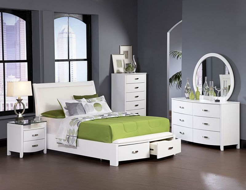 green bedroom furniture. Warehouse Price: $2,049 | Monthly Payment: $43 O.A.C. Green Bedroom Furniture