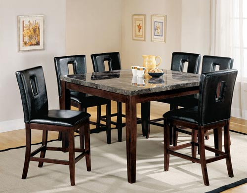 formal dinning room furniture inside a home