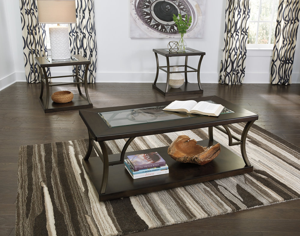 WAREHOUSE PRICE: $399.99 | MONTHLY PAYMENT $8 O.A.C 3PC TABLE SET